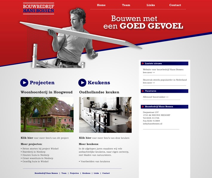 Website HansBossen.nl
