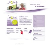 Website Fit4Lady.nl