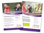 Voorbeeld flyers Fit4lady