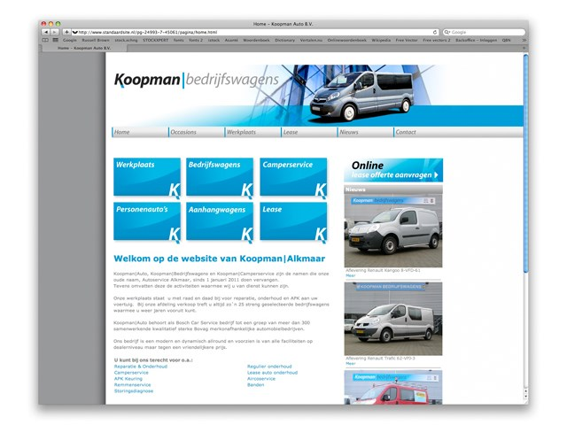 Website Koopman | Alkmaar