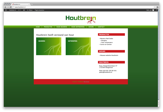 Website Houtbrein