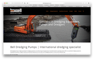 Webdesign Bell Dredging Pumps - Internationaal