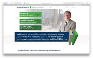 Webdesign Bruggenbouwers - Mediation
