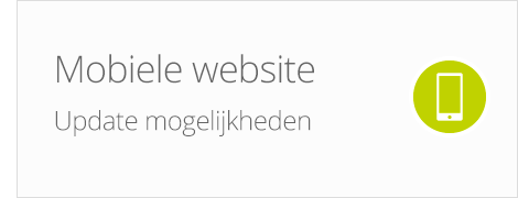 Ziber Mobiele website update